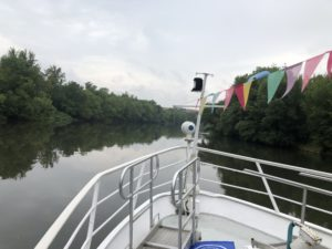 Saaleexpedition im August 2020