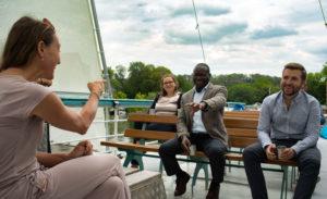 Besuch an Bord und Offene Bordtür