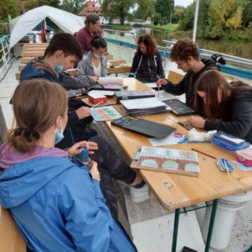 Schulexkursion Merseburg ForschungXKunst