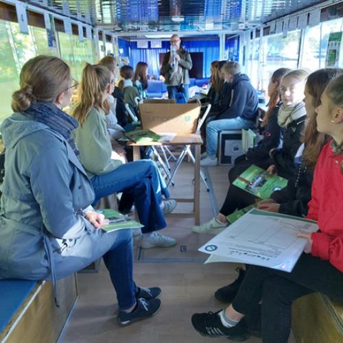 Besuch vom Domgymnasium Naumburg